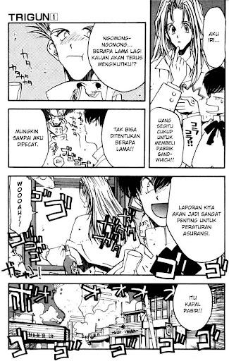 Trigun Manga Online Baca Manga page 3