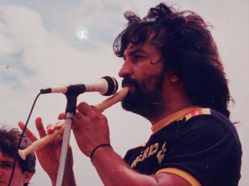 La USO rinde homenaje en la memoria del líder eterno, Manuel Gustavo Chacón Sarmiento