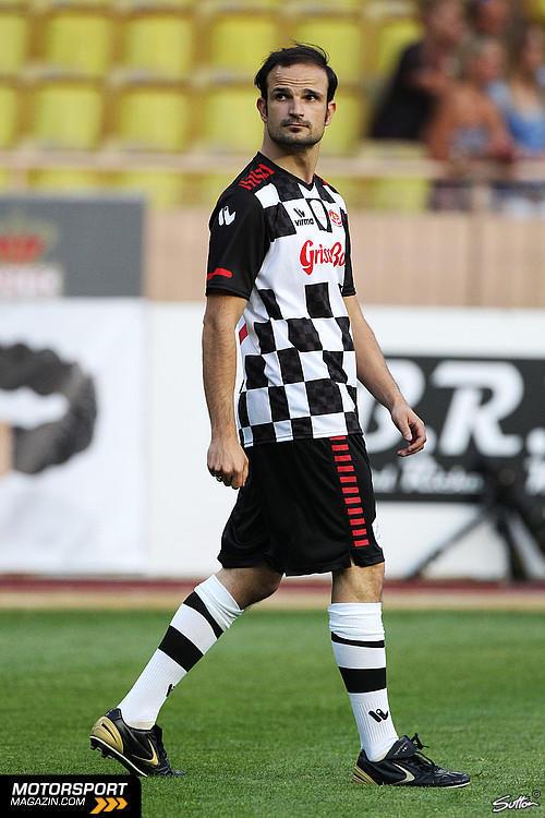 Витантонио Льюцци на благотворительном футбольном матче в Монте-Карло 2011