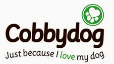 Cobbydog logo - 'Just because I love my dog'