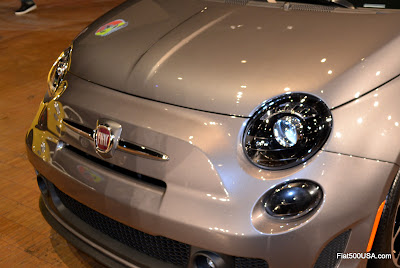 Fiat 500T front close up