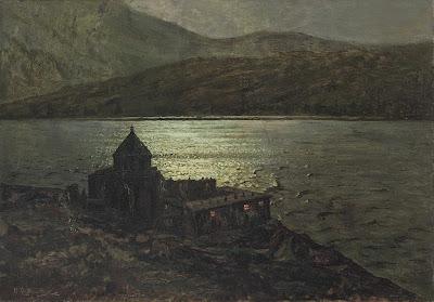 Ivan Fedorovich Choultse - Sevanavank Monastery on Lake Sevan