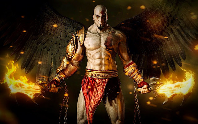 kratos God of War and ghost of sparta