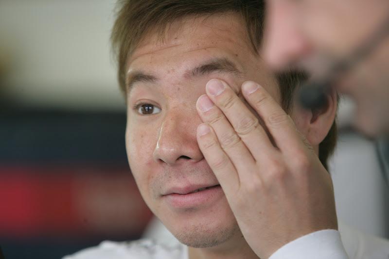 фэйспалм Камуи Кобаяши на Гран-при Венгрии 2011