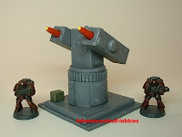 Missle launcher Military Science Fiction war game terrain and scenery