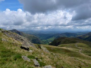 Looking back to Langdale from near Earing Crag