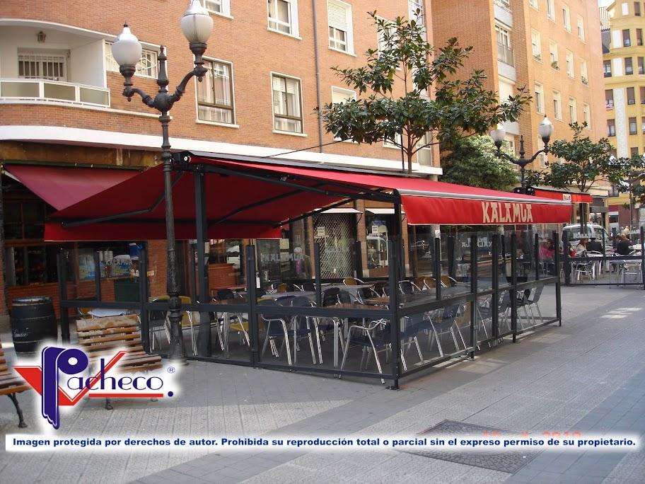 Sistemas para toldos en canals valencia modelos de - Toldos terrazas bares ...