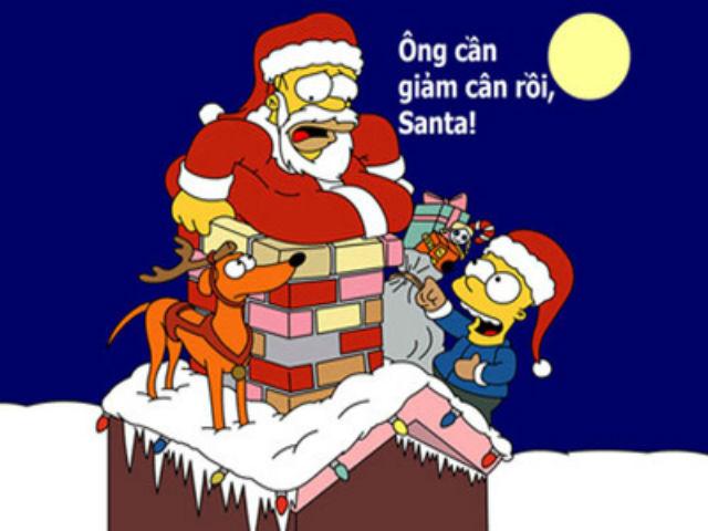 ảnh chế ông già Noel