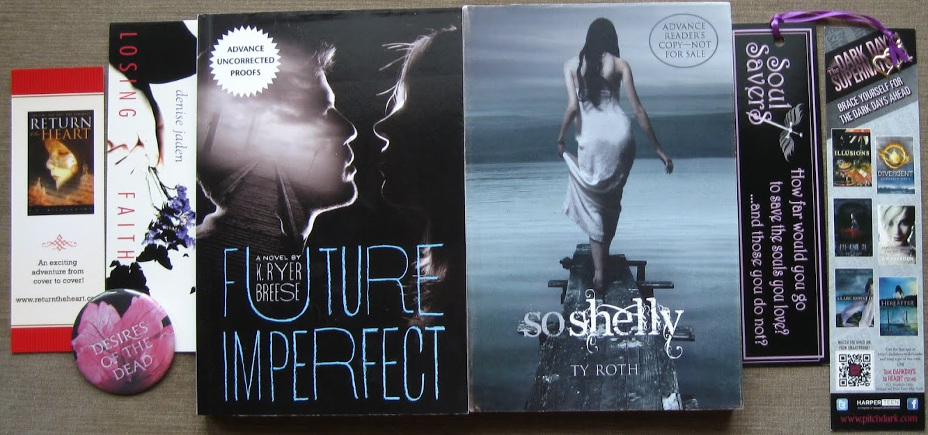 Blogoversary Giveaway #9 — Spooky ARC Prize Pack