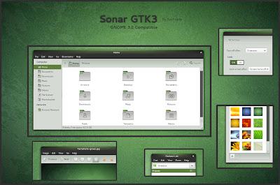 Sonar GTK3 theme