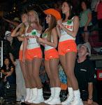 Huey is a big fan of the Hooters girls