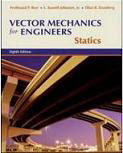 Text: Vector Mechanics for Engineers. Description: Picture of Aaron's Statics text book.