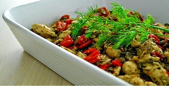 mantar soslu tavuk sote nasıl yapılır