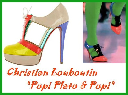 Hot Color Block Shoes and a REALLY Cool Shoes Site!