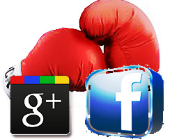 Facebook vs Google+ The Fight Continues Circles Smart Lists Subscription Privacy Options icon