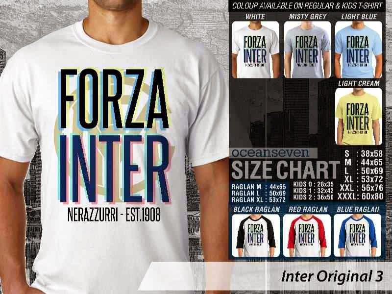 KAOS Inter Milan 22 Logo Klub Bola distro ocean seven