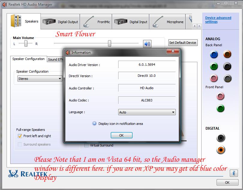 Скачать реалтек аудио драйвер для виндовс 7 64 бит с официального сайта