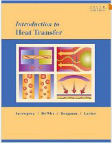 Text: Introduction to Heat Tranfer. Description: Picture of Aaron's Heat Transfer text book.