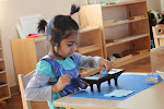 This Montessori polishing activity is a a great multi-step process that helps preschool children to extend their concentration span, in addition to teaching practical skills.