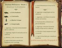Pozione Polisucco - Parte 1 - Istruzioni
