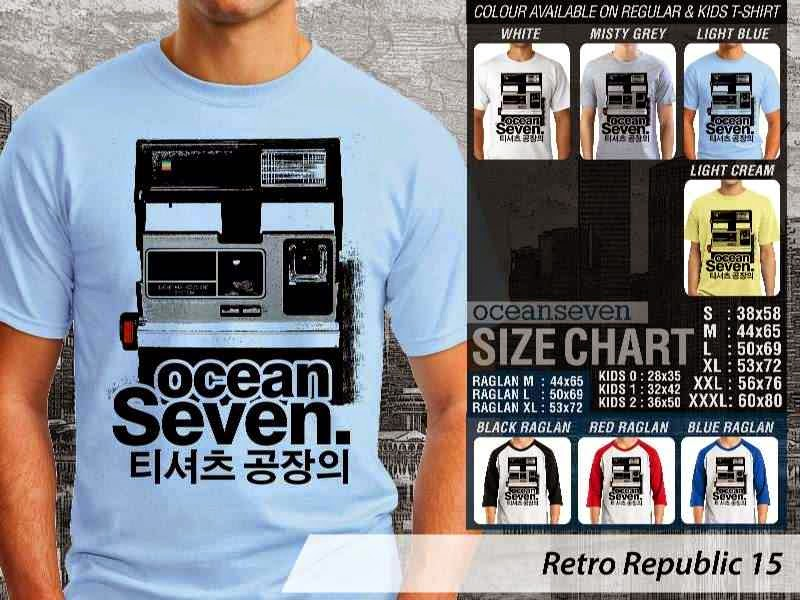 KAOS Retro Republic 15 camera distro ocean seven
