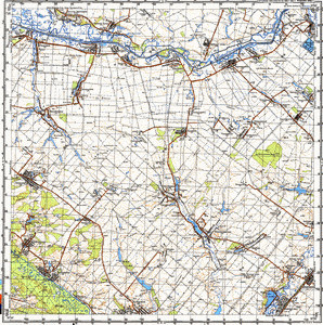 Map 100k--m36-120--(1990)