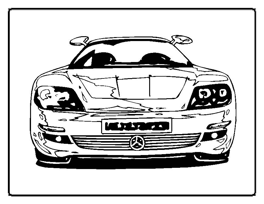 police car coloring pages - Colouring Cleveland Police