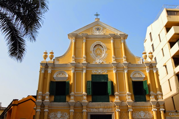 Old Portuguese Church Building at Macau