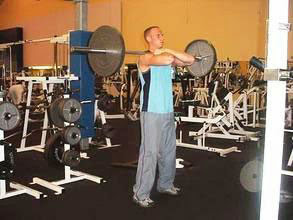 front squats phase1