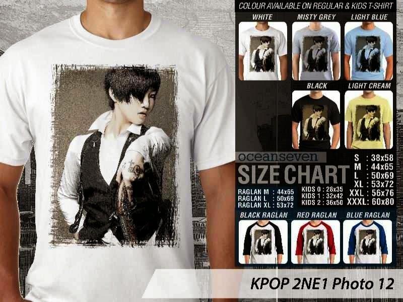 Kaos 2ne1 12 Photo K Pop Korea distro ocean seven
