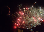 Then Scotty and I got a close view of the fireworks