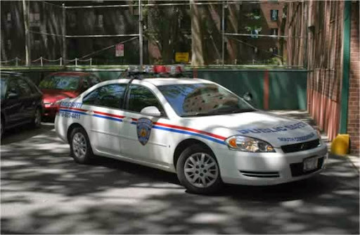 Parkchester South Public Safety Department patrol cars