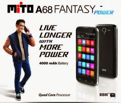 Mito A68 Fantasy Power - Spesifikasi Lengkap dan Harga