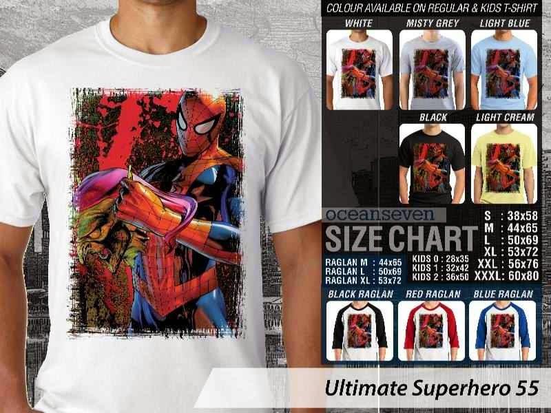 KAOS spiderman 55 Ultimate Superhero distro ocean seven