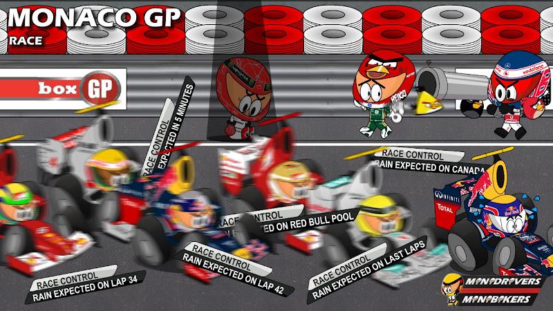 Los MiniDrivers по гонке на Гран-при Монако 2012