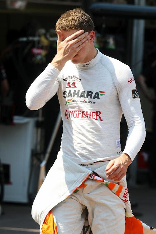 фэйспалм Пола ди Ресты на Гран-при Монако 2012