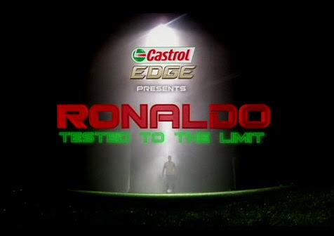 Castrol EDGE Ronaldo przetestowany do granic (2011) PL.TVRip.XviD / Lektor PL