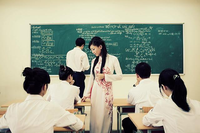 Ảnh đẹp về giáo viên