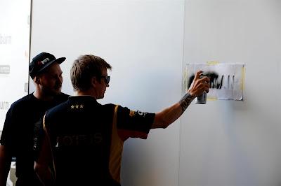 Кими Райкконен Iceman на Гран-при Испании 2013