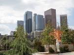 Looking back towards Downtown LA