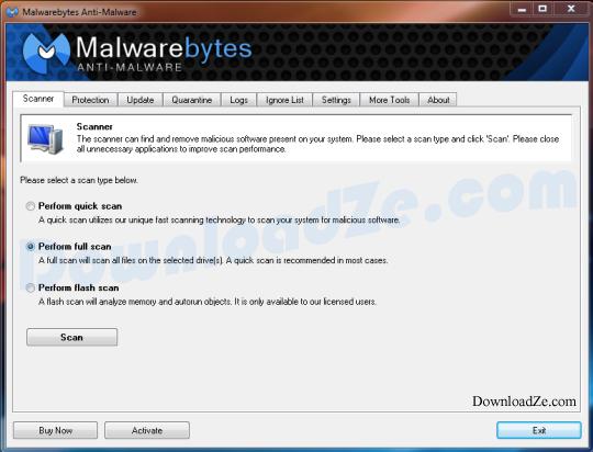 Malwarebytes Anti-Malware 2.2.1
