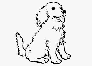 coloring pages of puppies - Dogs Coloring Pages