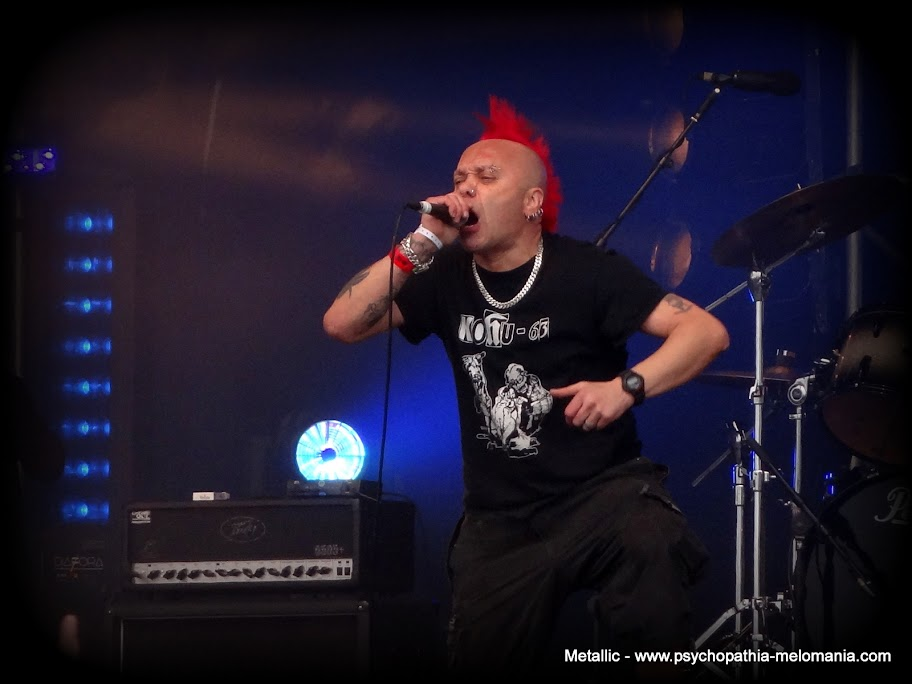 The Exploited @ Hellfest 2011 - Vendredi 17/06/2011