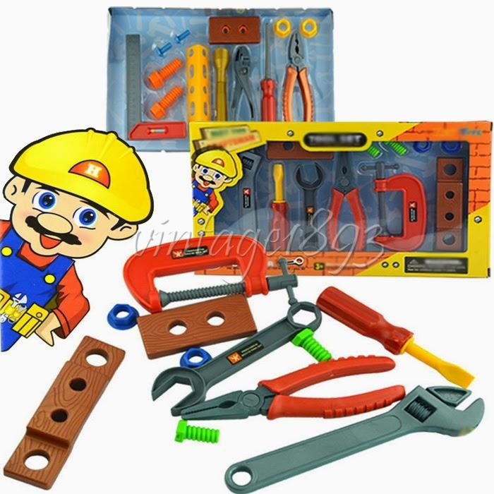 Jouet enfant malette d 39 outils de r paration r parateur - Malette outils enfant ...