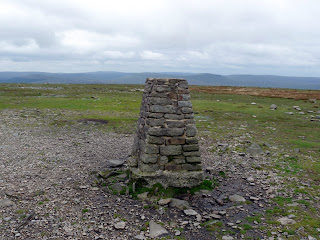 Ingleborough Summit Trig Pillar