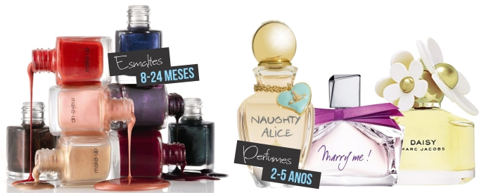 Esmaltes e Perfumes
