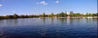 El inmenso lago de la Casa de Campo