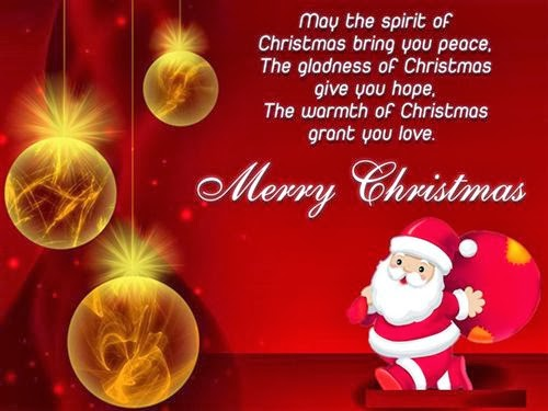 Beau Top Merry Christmas Quotes For Cards