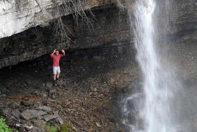 Стефано Доменикали на фоне водопада на летнем Wrooom 2011