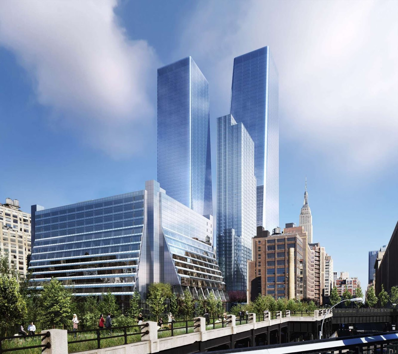 Redevelopment of Five Manhattan West by REX